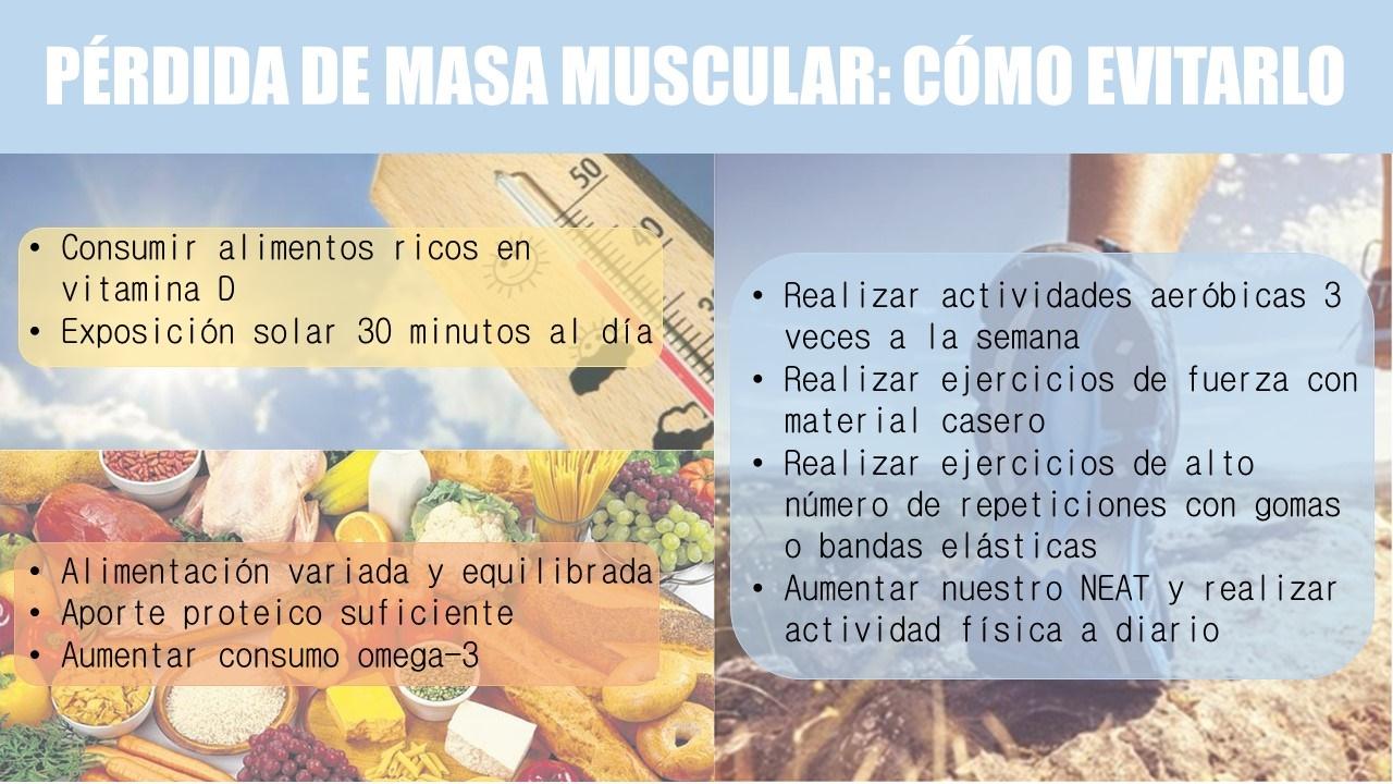 Pérdida de masa muscular